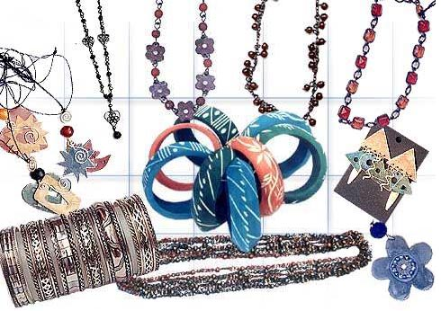 Fashion Accessories i.e. Ear Rings, Bracelets, Necklaces, Beads etc.